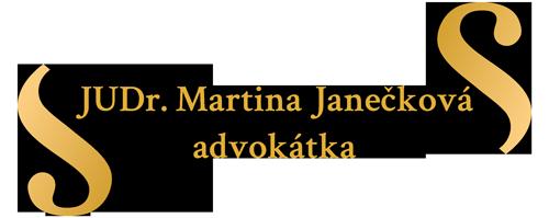 JUDr. Martina Janečková, advokátka